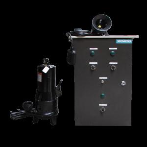 Sistema de eyección de aguas negras